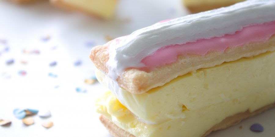 Glutenvrije en lactosevrije banketbakkersroom