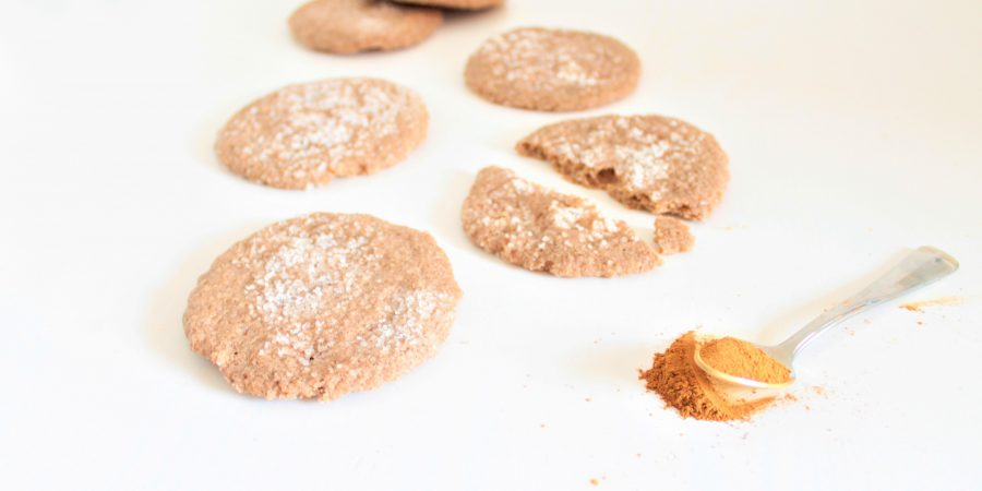 Kaneel kardemom koekjes (glutenvrij, lactosevrij en eivrij)