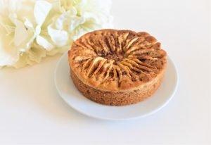 Glutenvrije, lactosevrije en eivrije appelcake