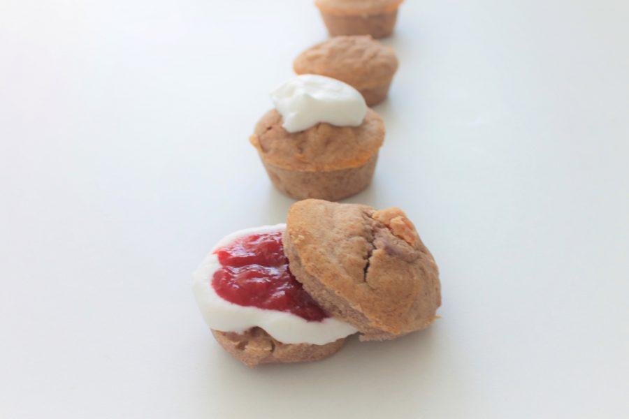 Scones met vruchten (glutenvrij, lactosevrij en eivrij)