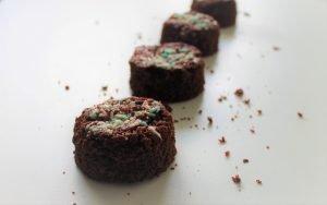 Feestelijke brownies (glutenvrij, lactosevrij en eivrij)