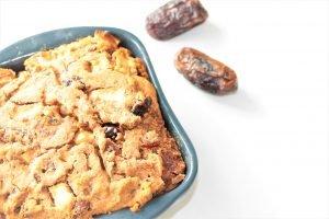 Dadel abrikozenbrood (glutenvrij, lactosevrij en eivrij)