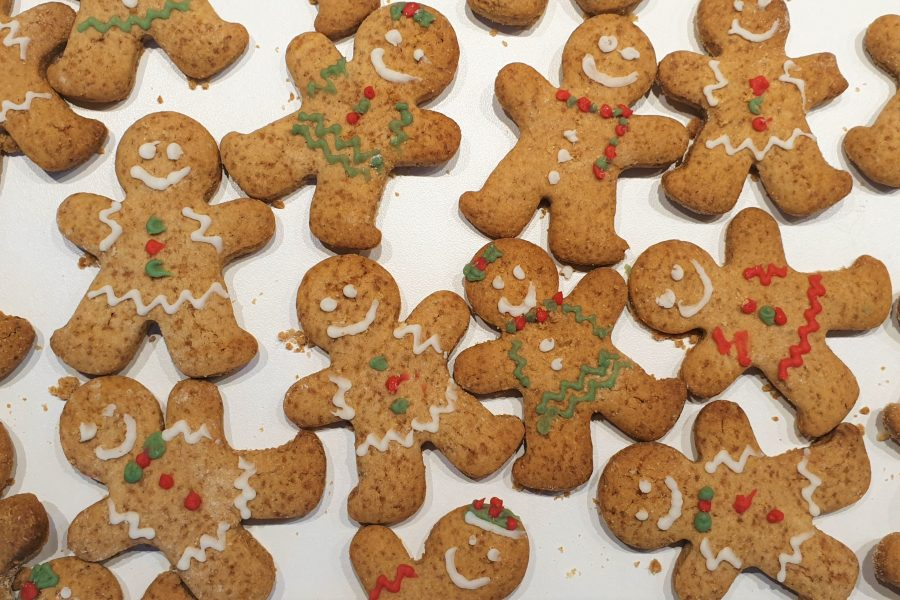 Gingerbread koekjes (glutenvrij, lactosevrij en eivrij)