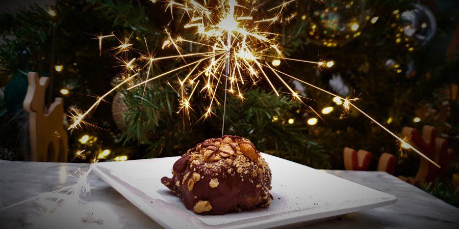 Chocolade cake bom 2 (glutenvrij, lactosevrij en eivrij)