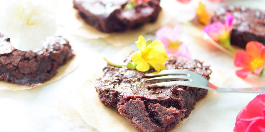 Brownie mix van de Lidl (glutenvrij, lactosevrij en eivrij)