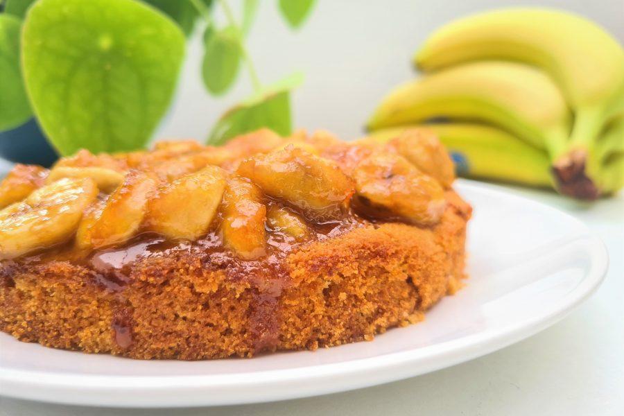 Bananentaart (glutenvrij, lactosevrij en eivrij)