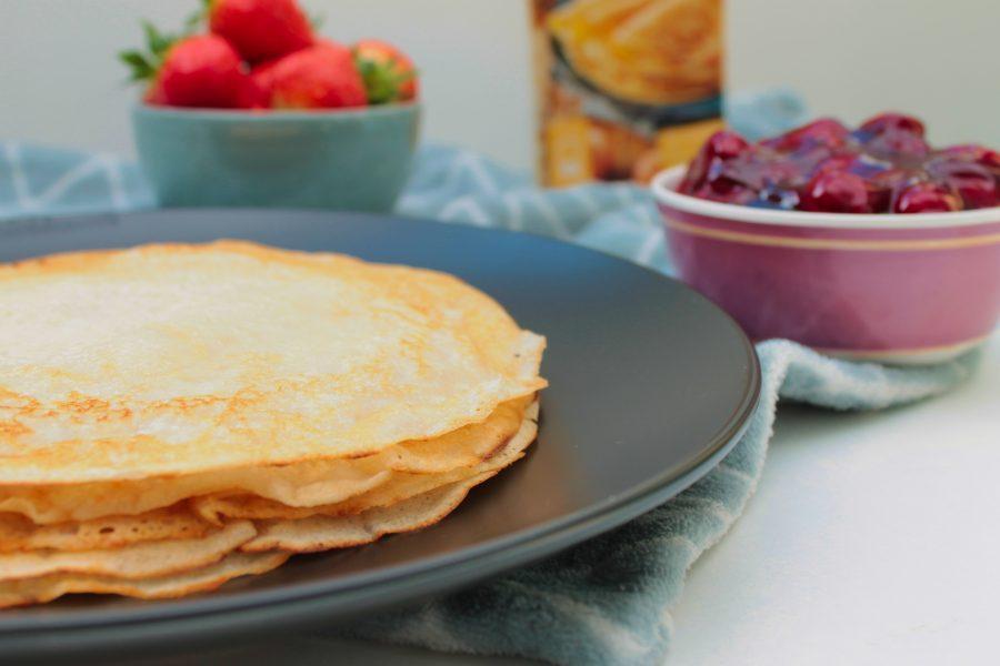 Pannenkoeken (glutenvrij, melkvrij en eivrij)